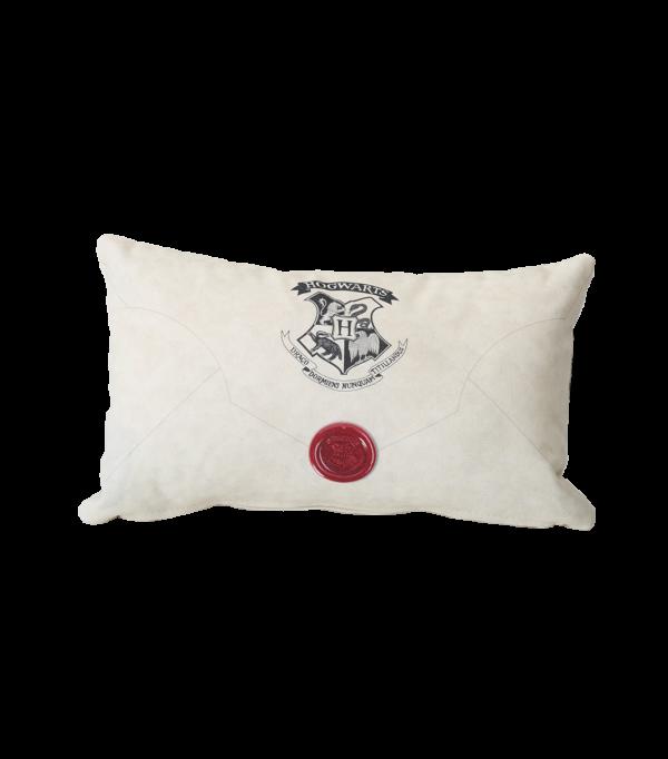 Hogwarts Acceptance Pillow Back Boutique harry potter Coussin lettre d'acceptation