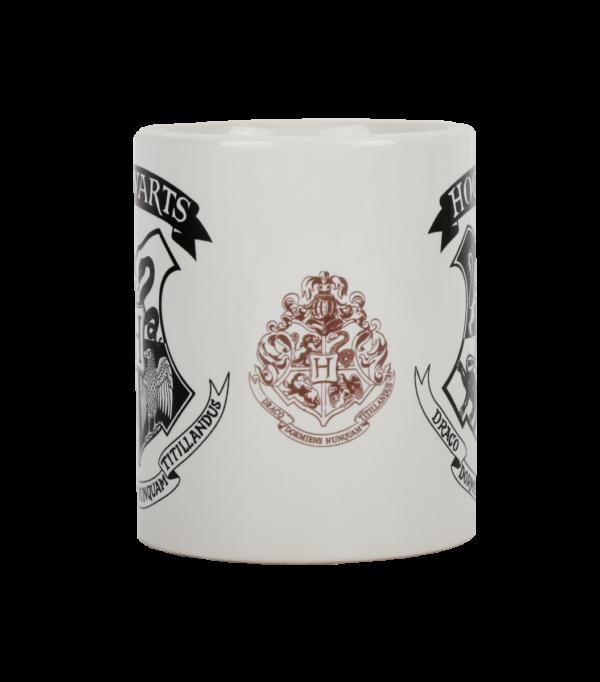 Hogwarts Crest Black Mug003 Boutique harry potter Tasse noire Poudlard