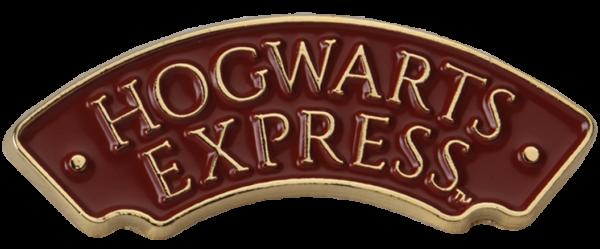Boutique harry potter Insigne panneau de signalisation du Poudlard Express