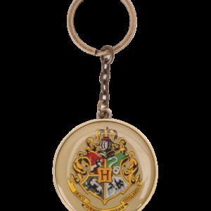 Porte-clés Poudlard à écusson rond