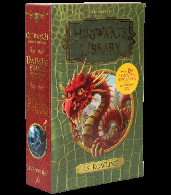 Hogwarts Library Boutique harry potter Coffret bibliothèque de Poudlard