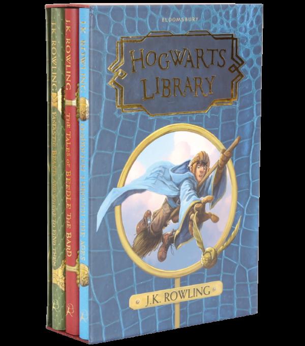 Coffret bibliothèque de Poudlard