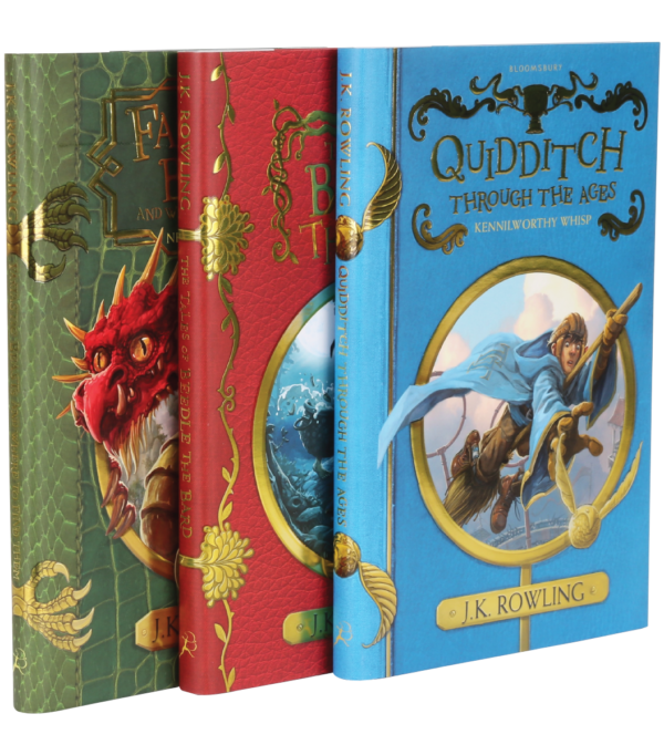 Hogwarts Library Group Boutique harry potter Coffret bibliothèque de Poudlard