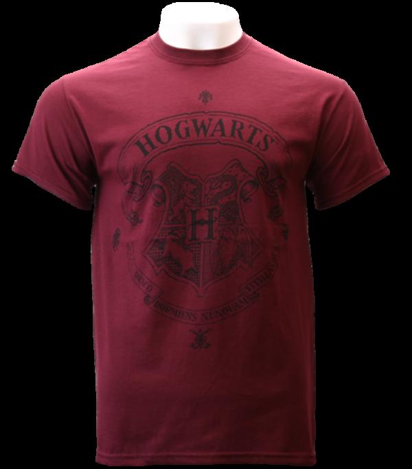 T-Shirt Poudlard Bourgogne