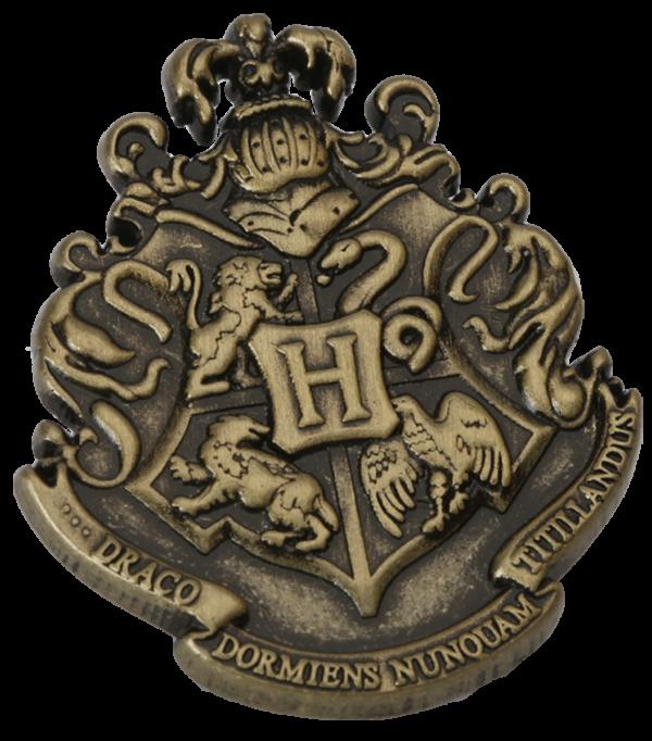 Badge de l'épingle de Poudlard