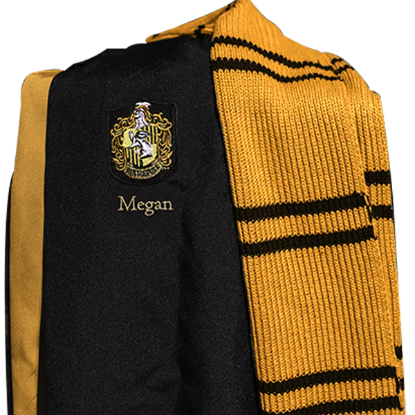HufflepuffScarf2 4cde7a77 ad50 4480 aa74 6a223092d2ef Boutique harry potter Harry Potter Peignoir