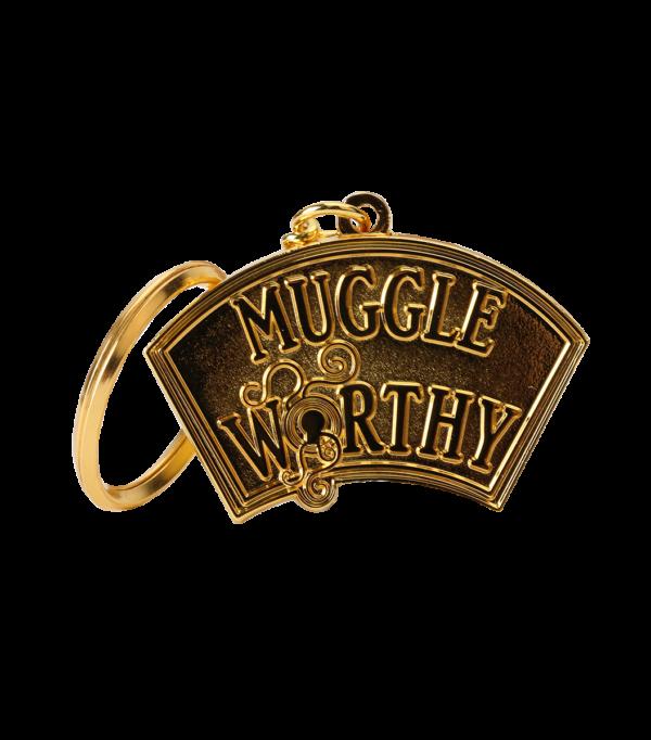 Keyring Muggle Worthy001 Boutique harry potter Porte-clés Les animaux fantastiques moldu