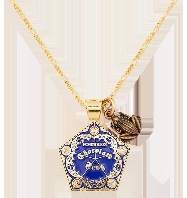 Necklace Chocolate Frog Charm 2 Boutique harry potter Collier pendentif grenouille en chocolat