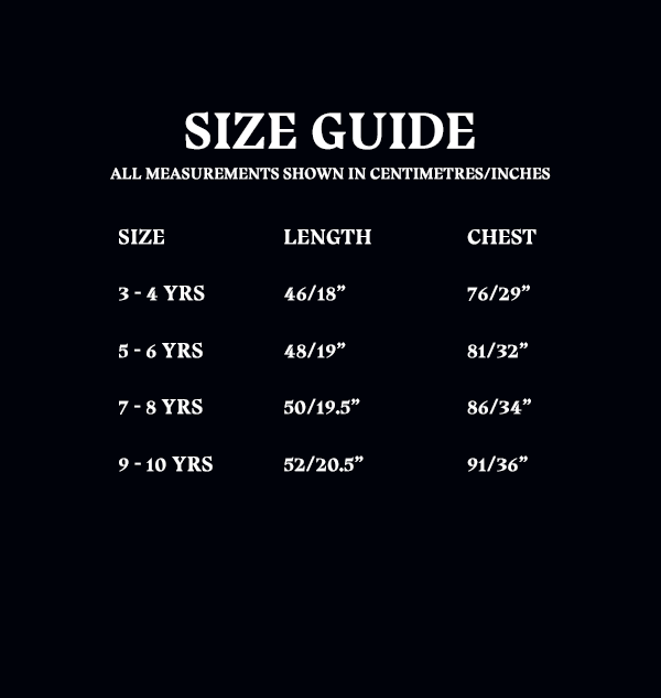 OLD Size Guide Kids Tshirts 4644fccd 4459 4418 a776 3e9f5bd00328 Boutique harry potter T-shirt 9 3/4 Enfants