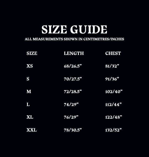 OLD Size Guide Unisex Adult Tshirt 75fdf716 cadb 4599 9dc0 45346260c859 Boutique harry potter T-Shirt Poudlard Bourgogne