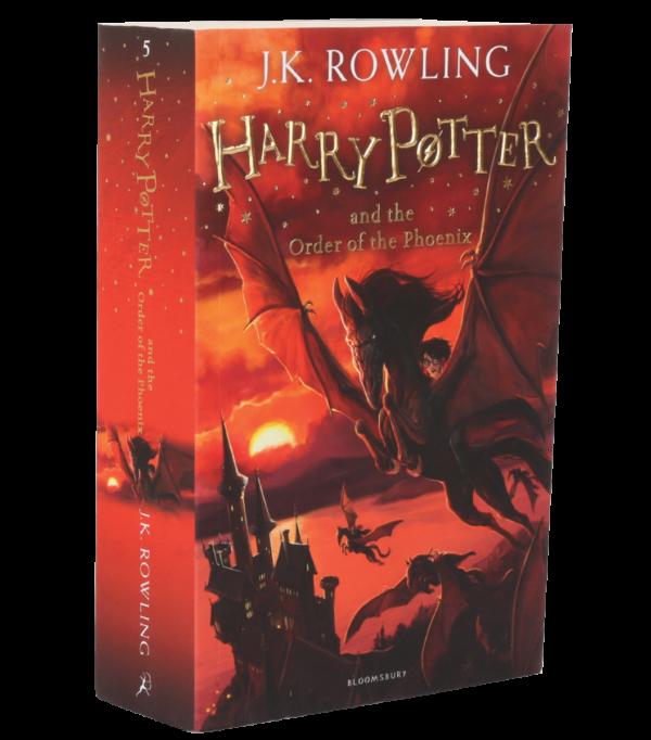 Nouvelle édition de Harry Potter et l'Ordre du Phénix Broché