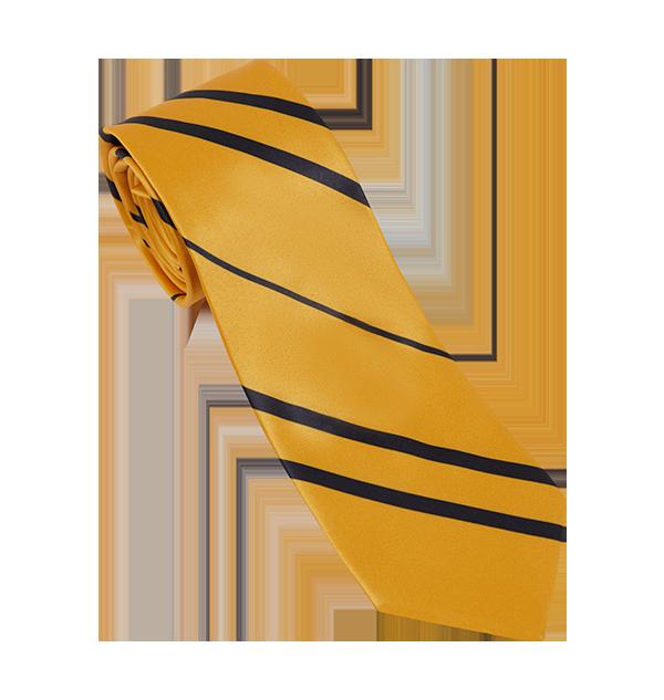 Cravate maison Poufsouffle