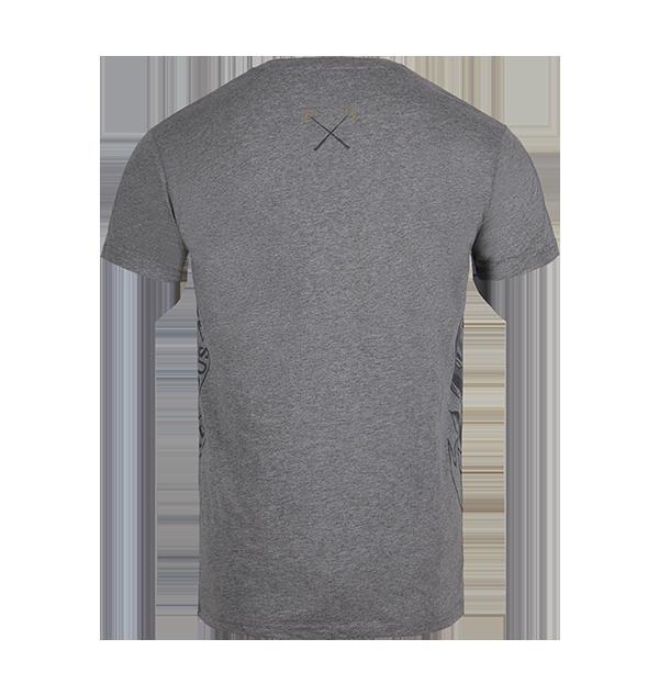 PL00010069 2 Boutique harry potter T-shirt gris Poudlard Bold Crest