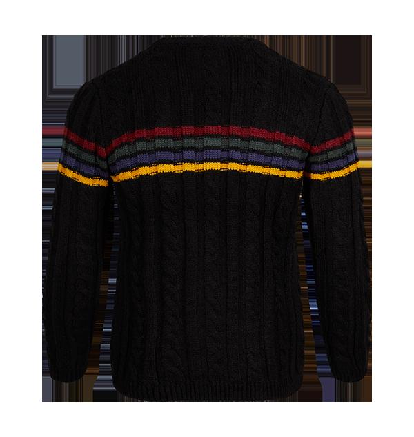 PL00010112 2 Boutique harry potter Pull en tricot avec l'écusson de Poudlard