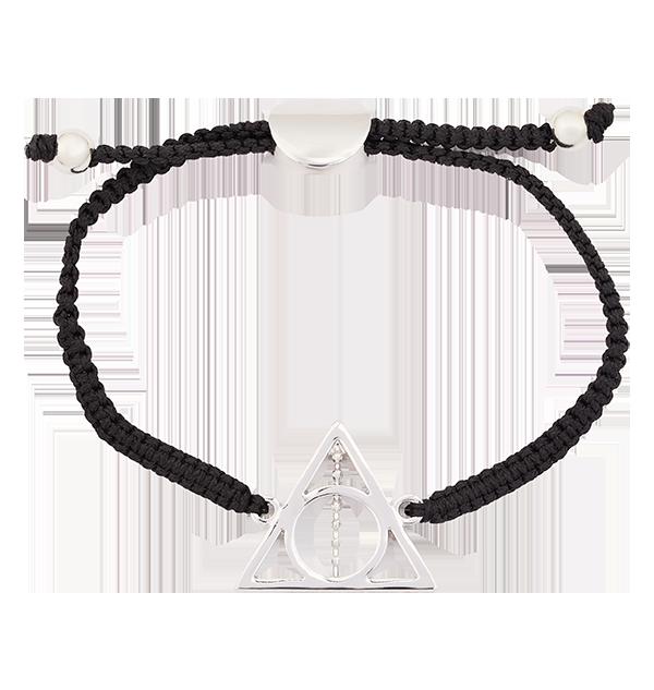 PL00010137 1 Boutique harry potter Bracelet en cordon Reliques de la Mort