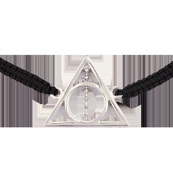 Bracelet en cordon Reliques de la Mort