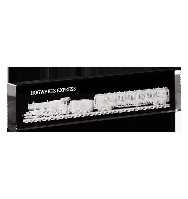 PL00010276 2 Boutique harry potter Presse-papiers en verre Poudlard Express