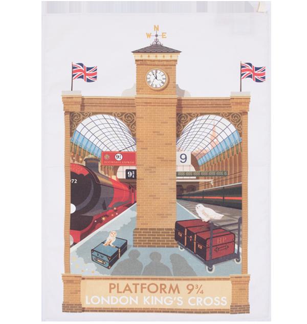 Torchon MinaLima Platform 9 3/4