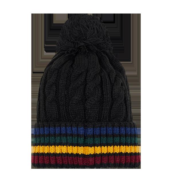 PL00010376 2 Boutique harry potter Bonnet tricoté écusson école de Poudlard