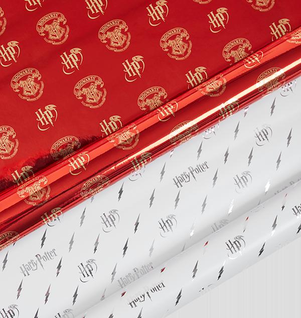 PL00010394 PL00010395 MIXED Boutique harry potter Papier cadeau pour l'éclair Harry Potter