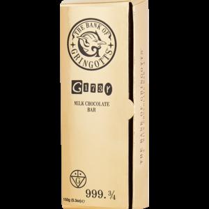 Barre d'or Gringotts au chocolat au lait-Harry Potter