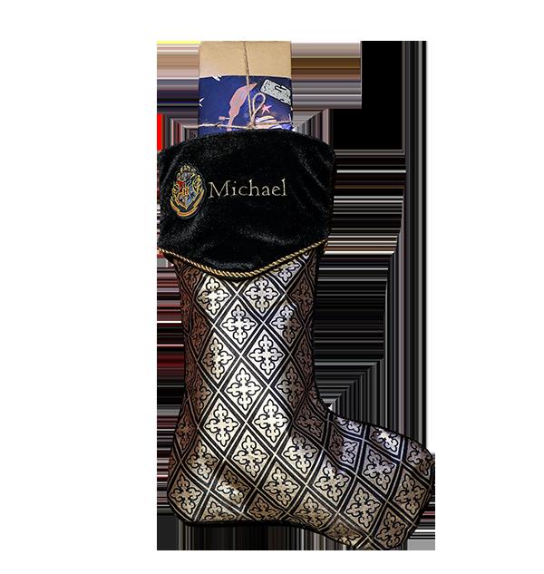 Personalised Stocking 2 002 Boutique harry potter Chaussette de Poudlard personnalisée