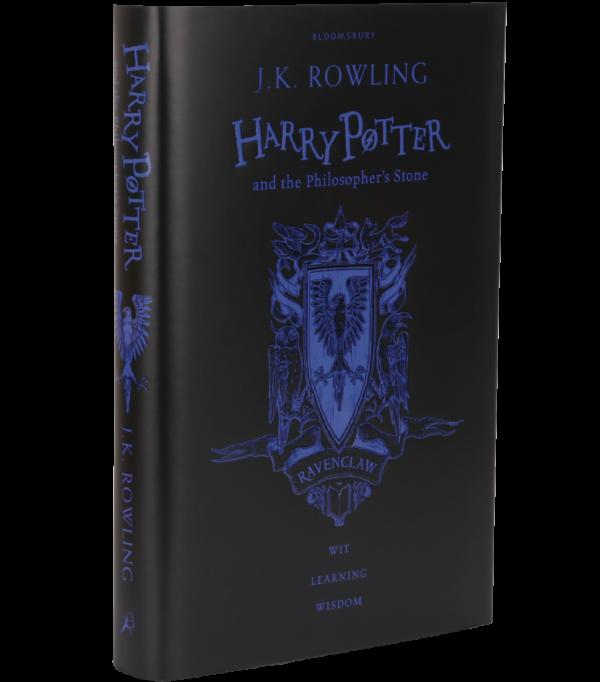 Harry Potter et la Pierre philosophale Edition du 20ème anniversaire de Serdaigle bleu (cartonné)