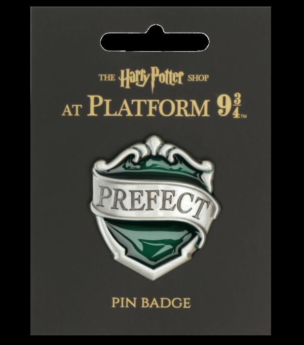 Prefect Slytherin1 Boutique harry potter Badge de préfet de Serpentard