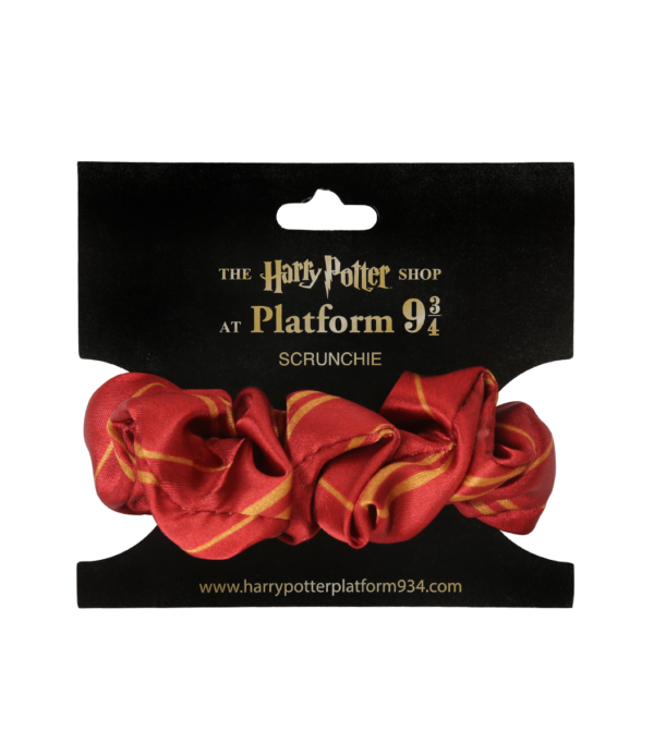Scrunchie Gryffindor001 Boutique harry potter Chouchou de Gryffondor