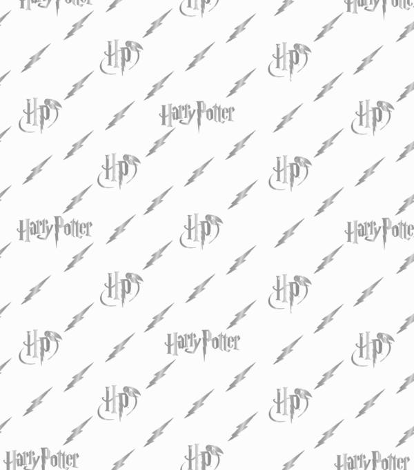 SilverWrappingPaper3 Boutique harry potter Papier cadeau pour l'éclair Harry Potter