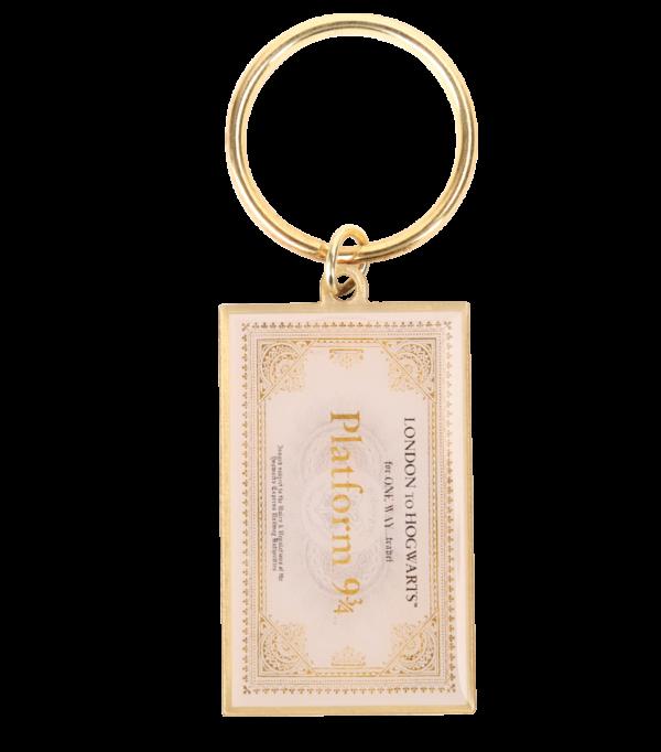 Porte-clés ticket Poudlard Express
