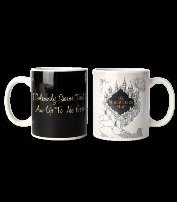 colour mug 2 Boutique harry potter Tasse la carte du maraudeur