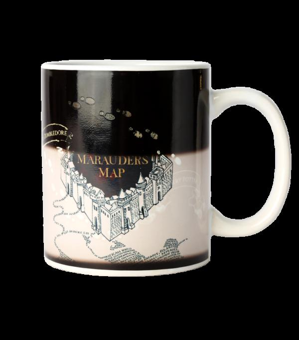 colour mug half Boutique harry potter Tasse la carte du maraudeur