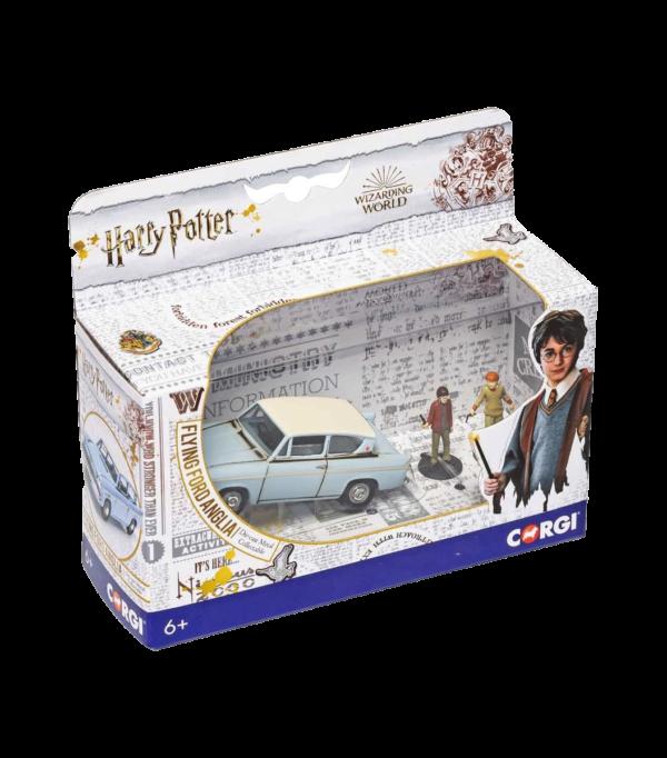 La Ford Anglia enchantée M. Weasley