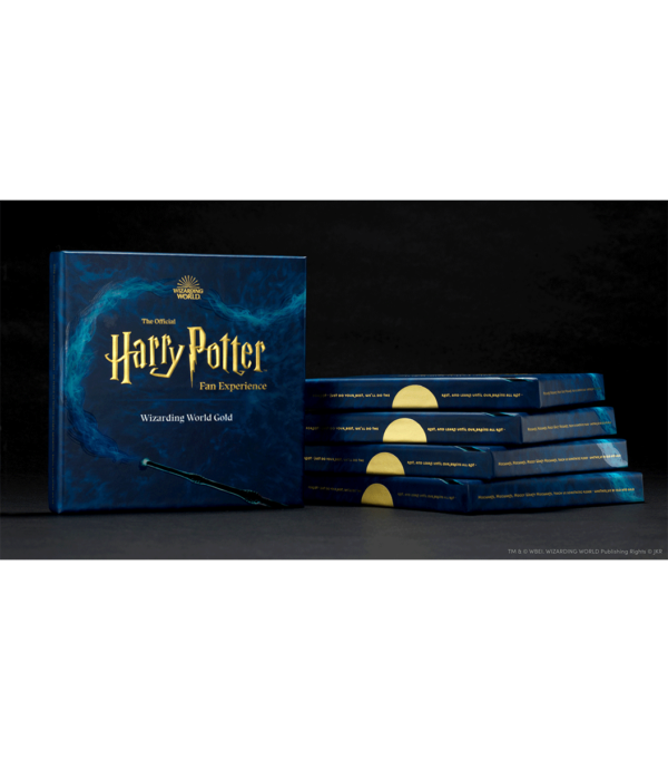 Boutique harry potter Boîte-cadeau en Or du Monde des Sorciers