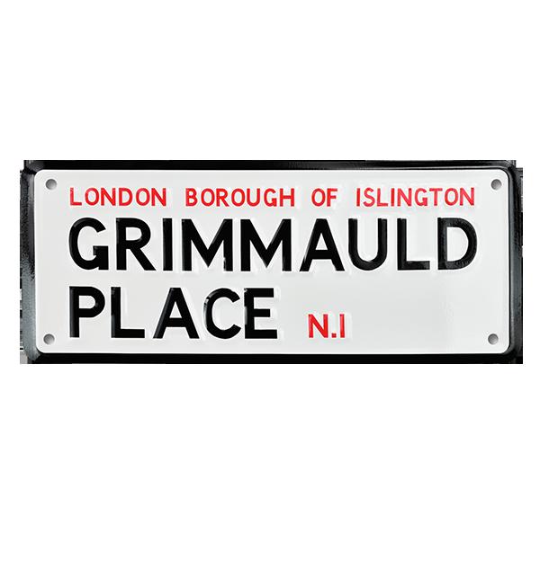 Panneau Place Grimmauld