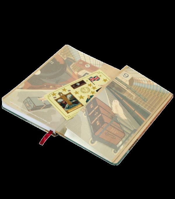 minalimanotebook1 Boutique harry potter Carnet de notes MinaLima Platform 9 3/4