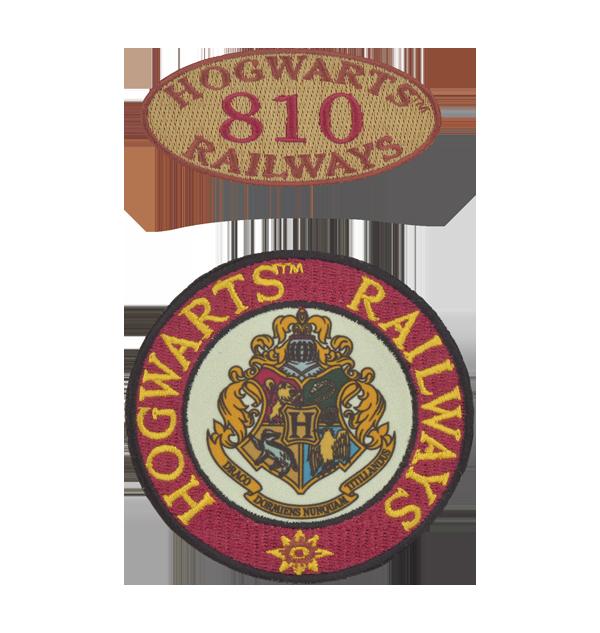 Patches des chemins de fer de Poudlard