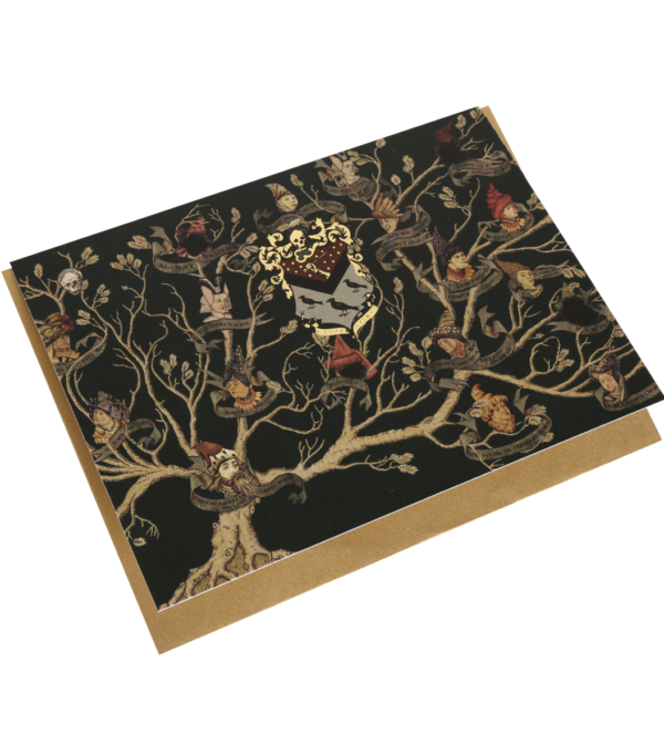 preview full Black Family Tapestry Notecard002 Boutique harry potter Carte postale famille Black