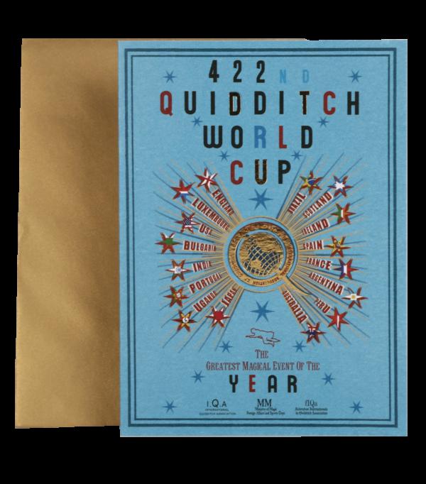 Carte Coupe du Monde Quidditch