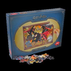 Puzzle de 1000 pièces sur le Quidditch