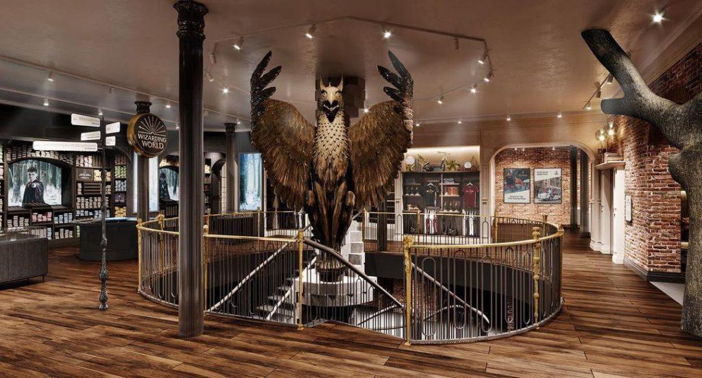 harry potter1010 Boutique harry potter Aujourd'hui On vous parle du Shopping dans le monde magique de Harry Potter au sein de la galerie commerciale du Village Joué club.