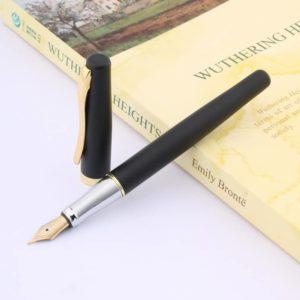 stylo plume élégant et unique sur support blanc