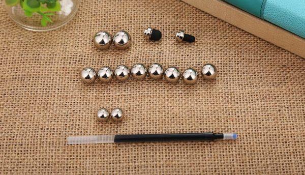 stylo à bille anti stress magnétique de luxe et amusant