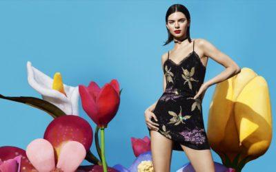 Kendall Jenner et la tendance fleurie