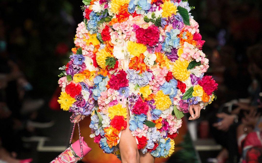 Les Modèles et les Robes Fleuries