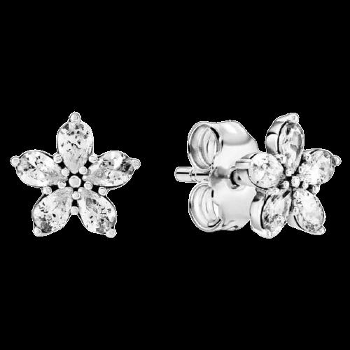 925 en Argent Sterling Daisy Fleur Flocon De Neige Orchid e toile de Mode Boucles D.jpg 640x640 removebg preview