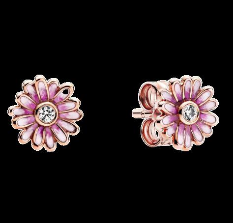 Boucles d oreilles en argent Sterling 925 pour femme bijoux Pandora authentiques en forme de marguerite.jpg 640x640 1 removebg preview