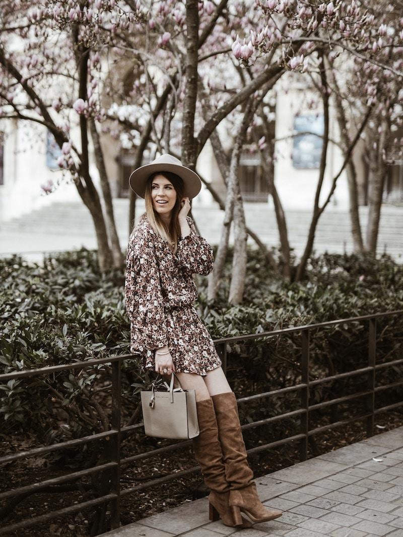 look robe fleurie americanvintage blogmode byopaline lyon15