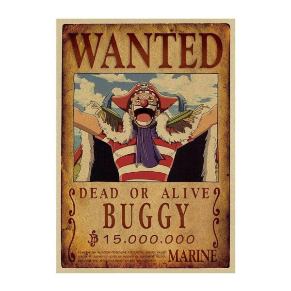 poster one piece baggy le clown